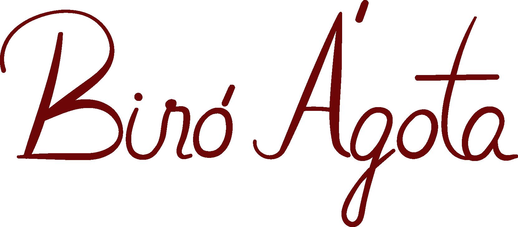 Biró Ágota szakmai weboldal